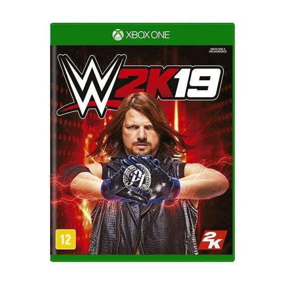 Jogo Novo Mídia Física Wwe 2k19 Para Xbox One