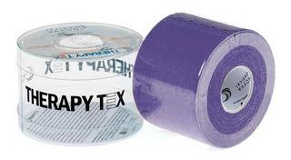 Bandagem Elástica Adesiva (5m X 5cm) Therapy Tex - Roxo