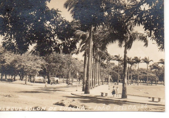 Foto Anos 1950 Parque Solon De Lucena João Pessoa Paraíba