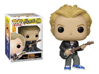 Funko Pop Sting #118 The Police Regalosleon