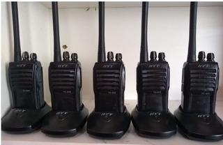 Lote 05 Rádios Hyt Tc600 Vhf (anatel)