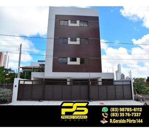 Imagem 1 de 8 de ( Oferta ) Flat Novo Em Manaíra - Fl0033