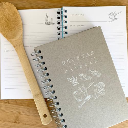Recetario - Cuaderno De Recetas - Mil Letterpress