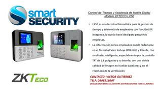 Reloj Biometrico Para Control De Acceso Y Asistencia