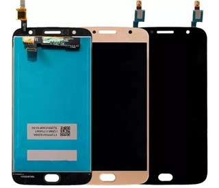 Tela Moto G5s Plus Xt1802 Novo Envio Imediato Dourado E Pret