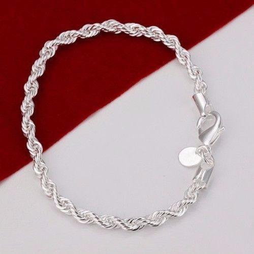Pulseira Bracelete Prata 925 Mod2