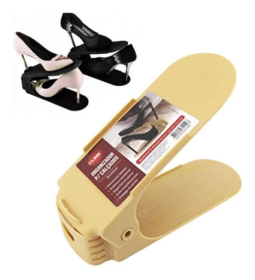 10 Organizador De Sapatos Calçados Sapateira 3 Regulagens