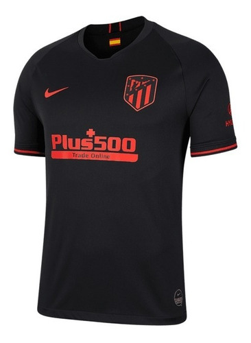 Camisa Atlético De Madrid Away 19/20 S/n Torcedor Nike Masc