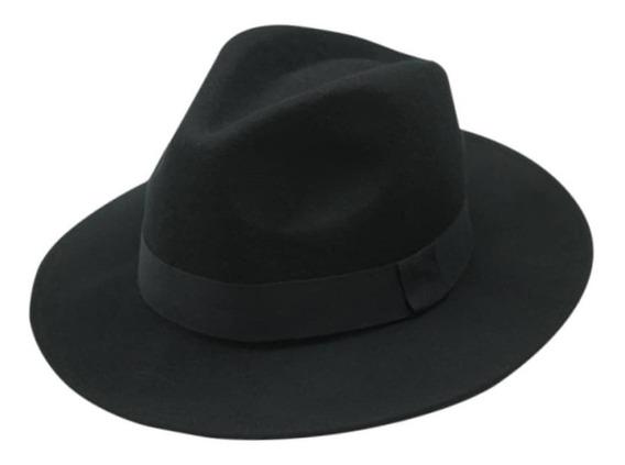 Chapéu Fedora Clássico De Feltro Aba Média Unissex Masculino Ou Feminino Várias Cores