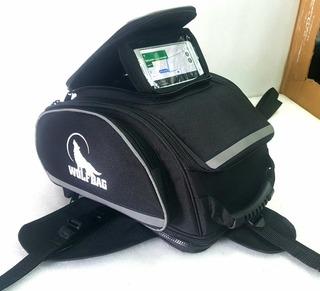 Tankbag Gps Para Moto Wolfbag