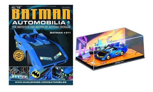Batman Automobilia Batmovel 10 - Eaglemoss - Bonellihq L18