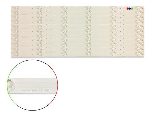 Imagen 1 de 4 de Kit Leds Hisense 50k20dw, 50k20d, 50k20dg - Aluminio, Nuevo.