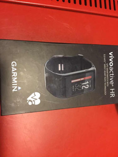 Garmin Vivo Active Hr De Pulsera Color Negro