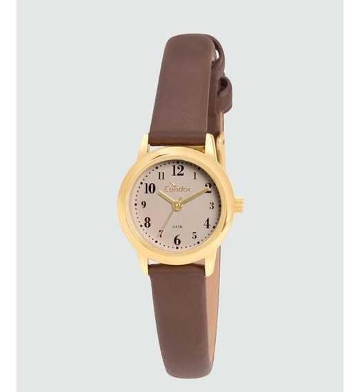 Relógio De Pulso Analógico Feminino Condor