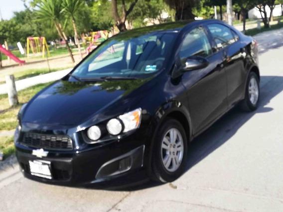 Chevrolet Sonic Lt 2016 Color Negro