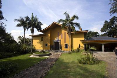Linda Mansão Em Condomínio Fechado - Ca0001