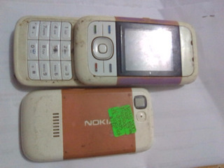 Telefono Nokia 5200 Con Detalle