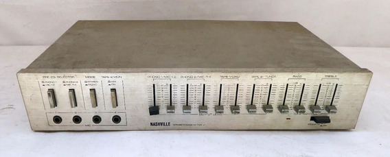 Mixer Nashville - Nx 7 - Leia Descricao, Não Testado