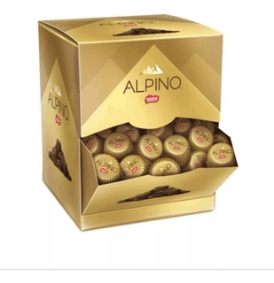 Caixa Bombom Chocolate Alpino Nestle 35x13g Oferta!!