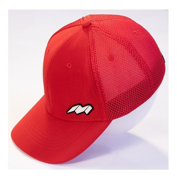 Gorra Cachucha Trucker Marca Mirage 3 Color Rojo