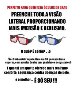 2 Óculos 3d Passivo Para Tv Lg E Cinema (novo)