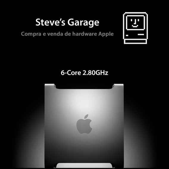 Mac Pro 6 Core 2.80ghz, 16gb Ecc, 1tb Hd, Vídeo 4gb, Mojave