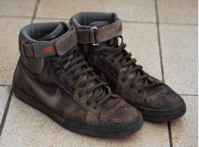 Tênis Nike Air Flytop 42 Em Couro Sneaker Raro