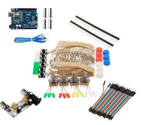 Kit Arduino Basic Eletrônica - 249 Itens | Arduino Esp32
