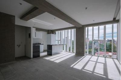 Departamento En Renta De 2 Habitaciones A Estrenar En Roma S