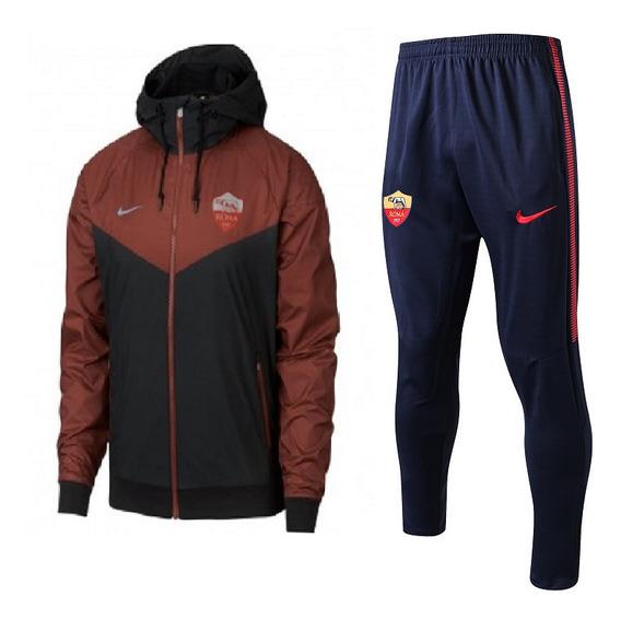 Jaqueta Corta Vento Nike Roma Masculina + Calça Grátis