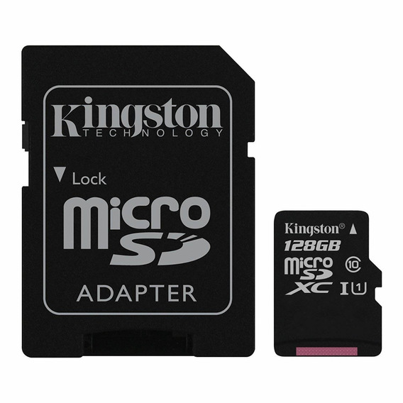 Kingston Technology Company Sdc10g2/128g Memoria Sd, 128 Gb,