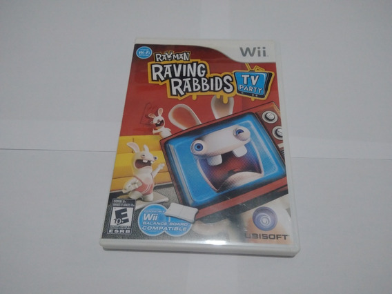 Rayman Raving Rabbds Tv Party