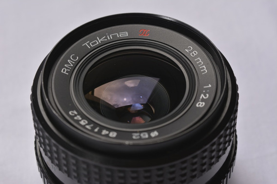 Lente Tokina Rmc 28mm 1:2.8 Mount Md Full Frame