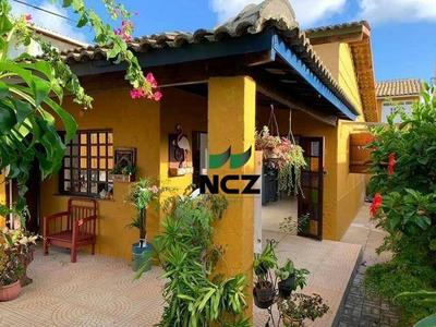 Casa Aconchegante À Venda - Praia De Ipitanga - Lauro De Freitas/ba - Ca2869