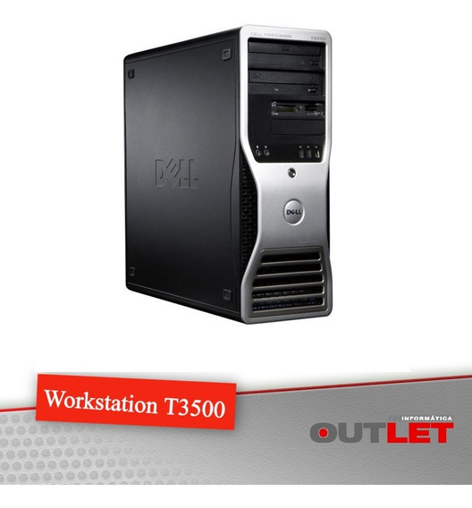 Workstation Dell Precision T3500 Xeon W3690 3.46 Ghz 24gb