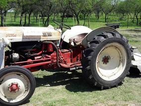 Tractor Ford Con Rotativa, Funcionando Muy Bien