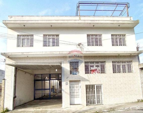 Salão À Venda, 1209 M² Por R$ 1.200.000 - Vila Ré - São Paulo/sp - Sl0001