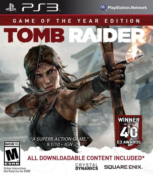 Tomb Raider Digital Edition Ps3
