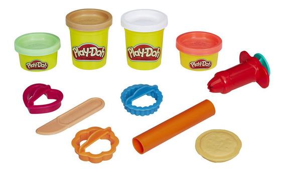 Massa De Modelar - Play-doh - Pote De Biscoitos - Hasbro