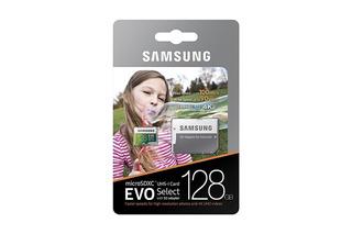 Cartão Microsdxc Samsung 100mb/s 128gb U3 4k P/ Gopro, Drone