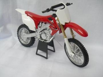 Miniatura Moto Crf 450 Escala 1:12 Motocross Velocros Oferta