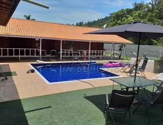 Lindo Sitio Em Mogi Das Cruzes, Casa De Madeira Com 4 Quartos, 2 Suites E 3 Banheiros Internos + Sal - V-2802