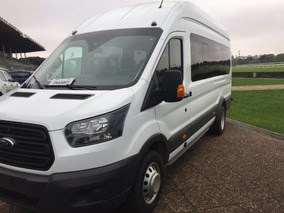 Ford Transit Minibus 2018 0km Entrega Inmediata Hc