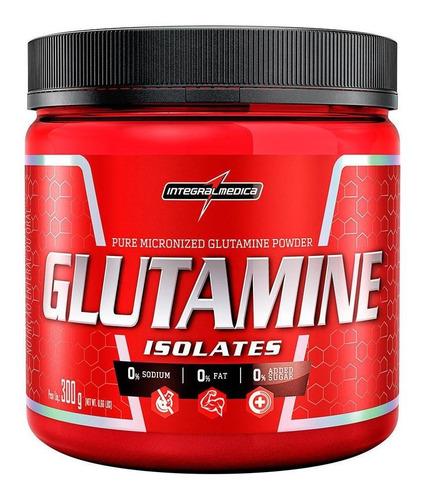 Glutamina Isolates Integralmedica 300g Pure Powder