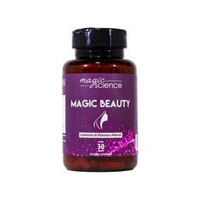 Magic Beauth (pílula Da Beleza) Suplemento Vitaminas