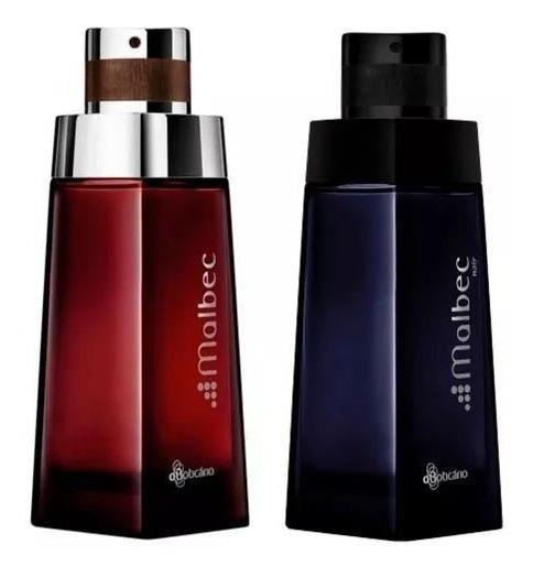 Perfumes O Boticario Malbec Noir + Tradicional