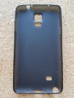 Capa Case Tpu Samsung Galaxy Note 4 N910 - Fumê