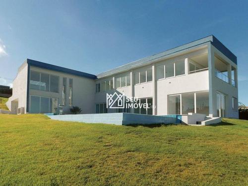 Casa Com 5 Suítes À Venda, 550 M² Por R$ 3.300.000 - Condomínio Fazenda Kurumin - Itu/sp - Ca2242