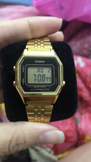 Relógio Cássio Original - Comprado Na Dafiti - La680w