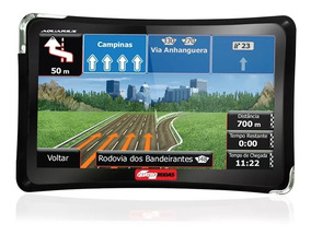 Gps Automotivo Quatro Rodas Tv Digital 4.3 Pol. Alerta Radar